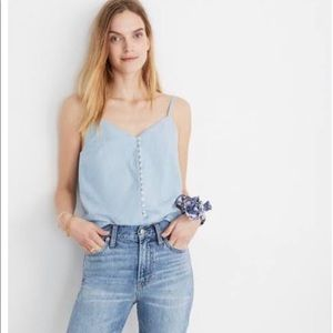 Price negotiable- Madewell button up cami